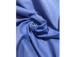 Tissu coton Bleu royal