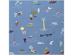Tissu coton on voyage - Rico Design