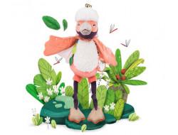 """Paloma l'oiseau d'activités """"Dans la jungle"""" Moulin Roty"""