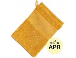 Gant de toilette moutarde - Rico