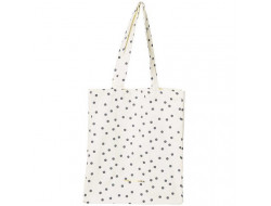 Tote bag en toile à pois Rico Design