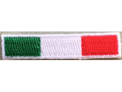 Ecusson thermocollant drapeau Italie