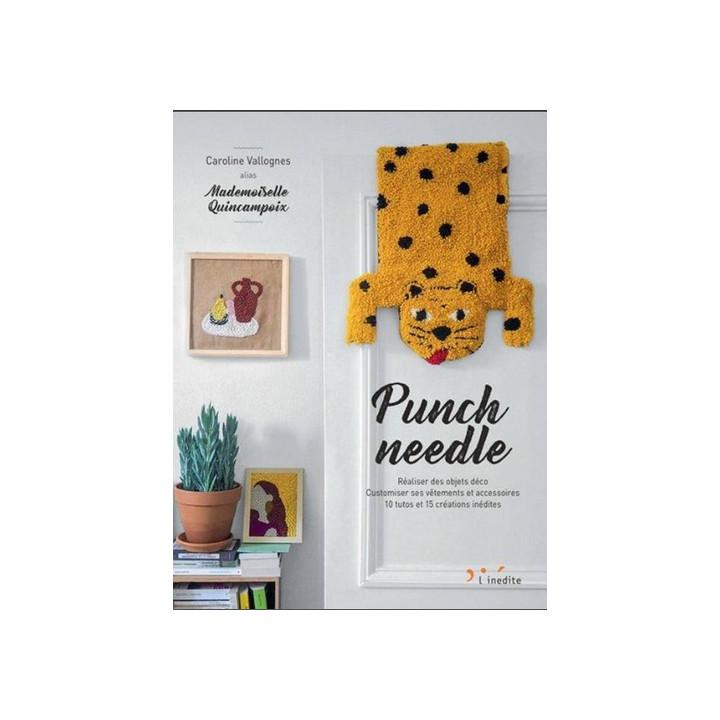 Punch Needle Réaliser des objets déco