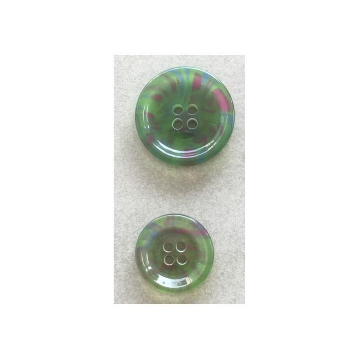 Bouton classique vert