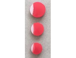 Bouton rouge 12, 15 et 18 mm