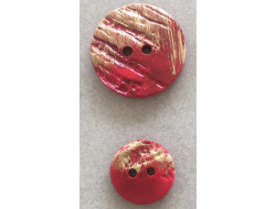 Bouton classique rouge