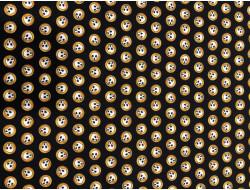 Tissu coton Tête de mort  - QT Fabrics