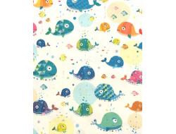 Tissu coton Turnowsky, baleines - QT Fabrics