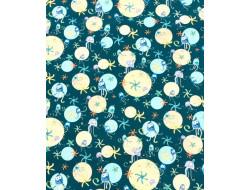 Tissu coton Turnowsky, pieuvres - QT Fabrics