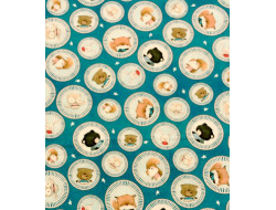Tissu coton Campfire Friends, By Stacey Yacula - QT Fabrics