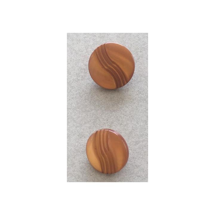 Bouton pastille camel 11 et  12 mm