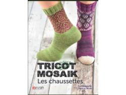 Tricot mosaik Les chaussettes Sylvie Rasch