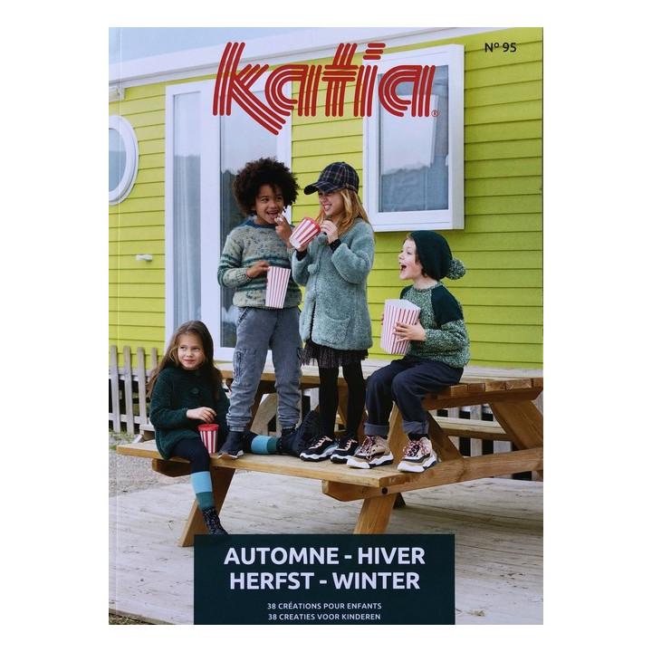 Catalogue laine Katia N°95 pour Enfants