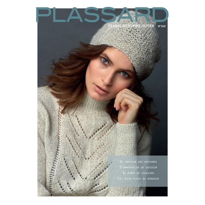 Magazine tricot N°160 - Femme Hiver - Plassard