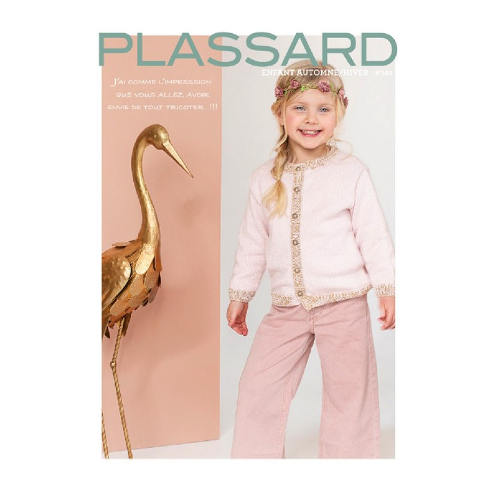 Magazine tricot N°162 - Enfants Intemporel Hiver - Plassard