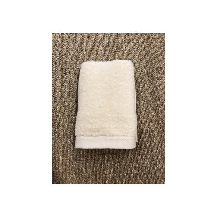 Serviette de toilette 50 x 100 cm - Ivoire