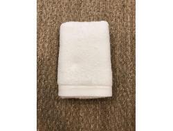 Serviette de toilette 50 x 100 cm - Blanc