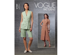 Patron gilet, short et pantalon- Vogue 1707
