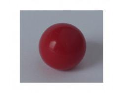 Bouton boule rouge