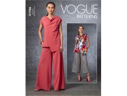 Patron haut et pantalon- Vogue 1706