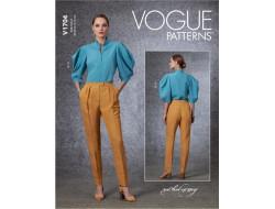 Patron haut et pantalon - Vogue 1704