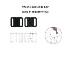Attache maillot de bain 14 mm