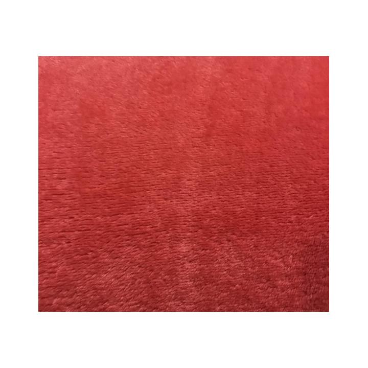Tissu doudou corail