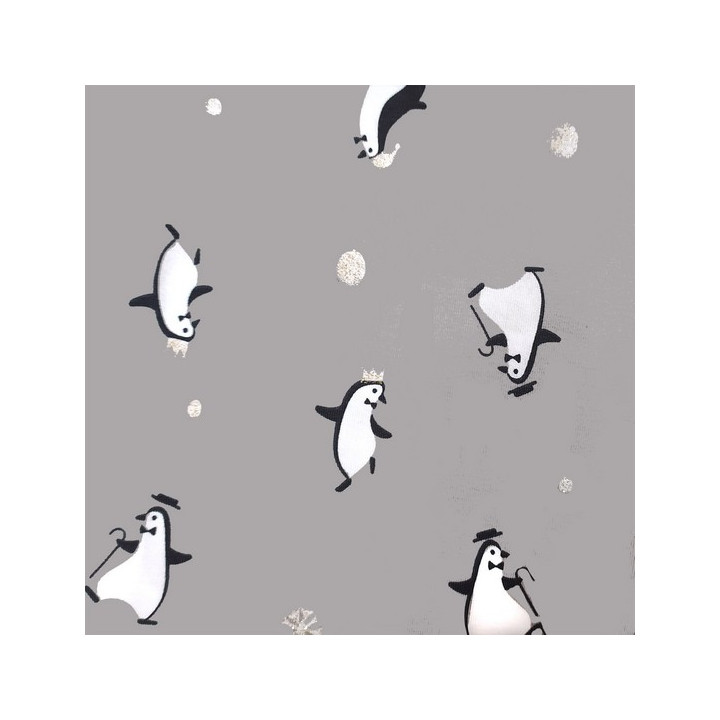 Tissu jersey Gold Pingouin - Katia Fabrics