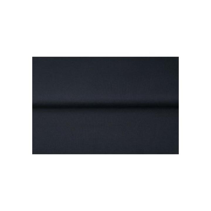 Tissu popeline de coton Bleu Stenzo