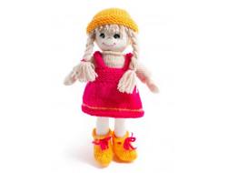 Kit à tricoter poupée Lina - Jardinière