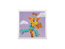 Kit broderie diamant Girafe