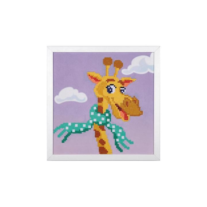 Kit broderie diamant Girafe