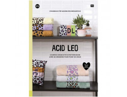 173 - Livre point de croix Acid Leo, RICO