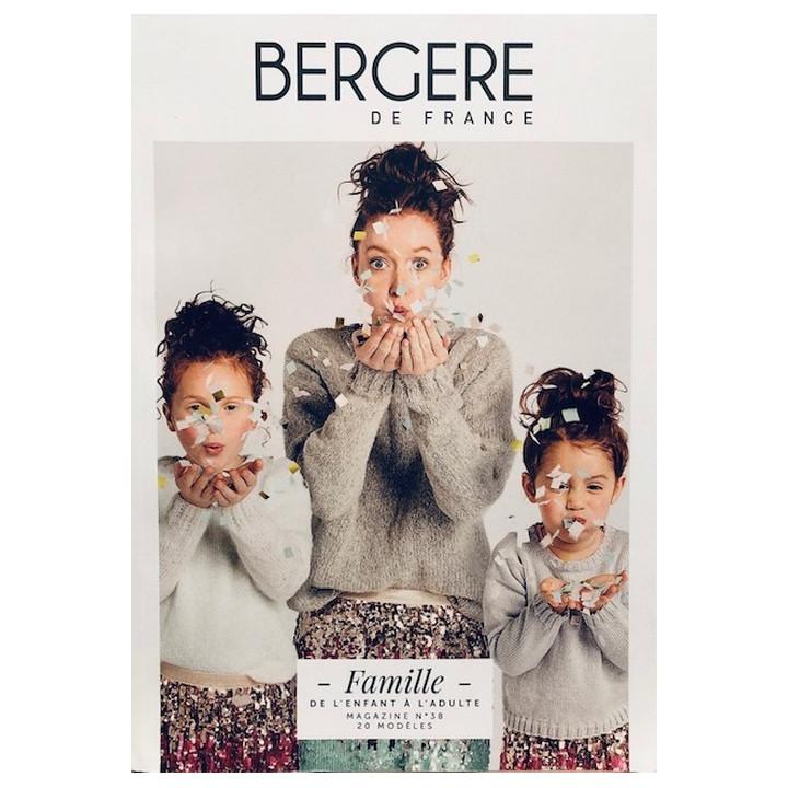 Magazine tricot 38 Famille - Bergère de France