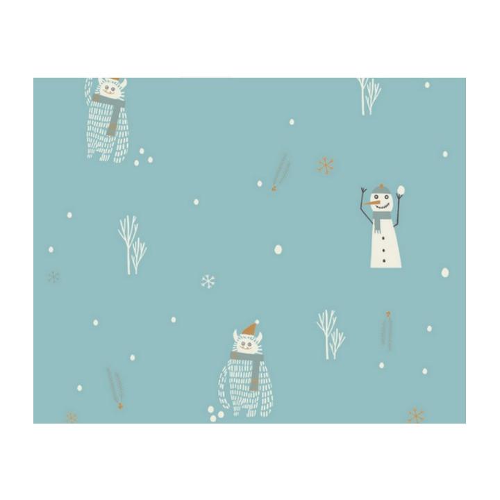 Tissu imperméable Yeti & Snowman - Katia Fabrics
