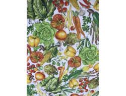 Tissu coton légumes