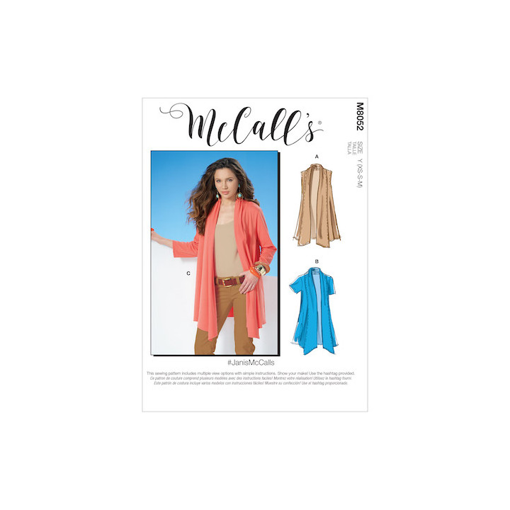 Cardigans femme - Mc Call's M8052