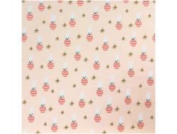 Tissu Jersey lièvres - Rico Design