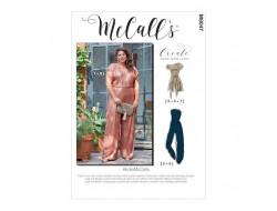 Salopette, jumpsuit et grande ceinture femme - Mc Call's M8047
