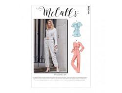 Salopette, jumpsuit et  ceinture femme - Mc Call's M8046