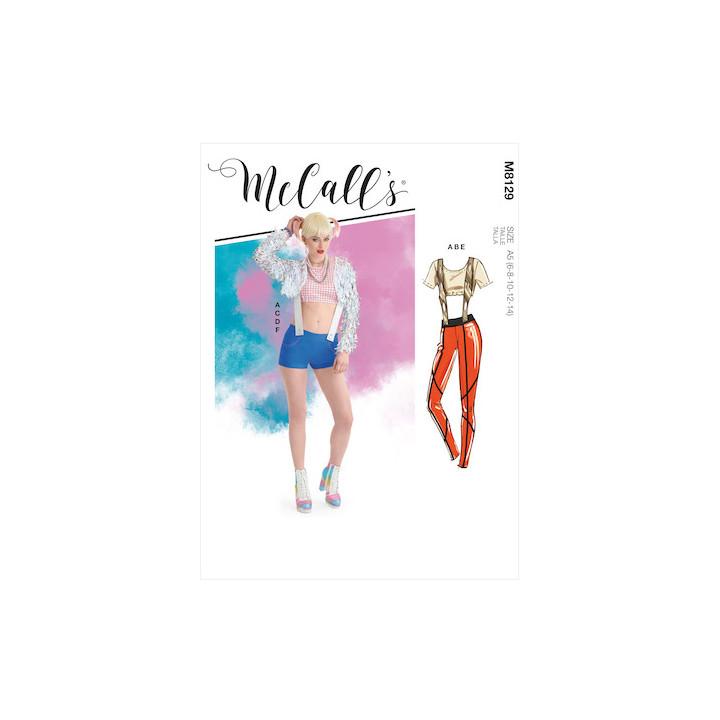 Deguisement  femme - Mc Call's M8129