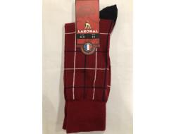 Chaussettes Fins Laine - Carreaux