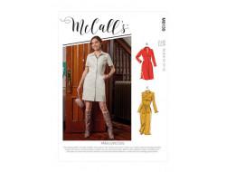 Robe et ceinture femme - Mc Call's M8139