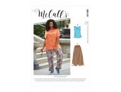 Chemise, haut , jupe et pantalon femme - Mc Call's M8159