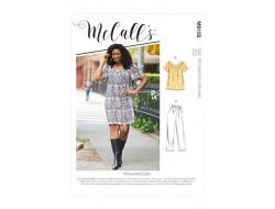 Hauts, robes, shorts et pantalon corsaire femme - Mc Call's M8158