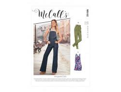 Jeans et salopettes femme - Mc Call's M8162