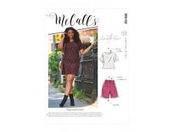 Haut, robe, short et pantalon femme - Mc Call's M8160