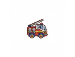 Ecusson thermocolant - Camion de Pompiers