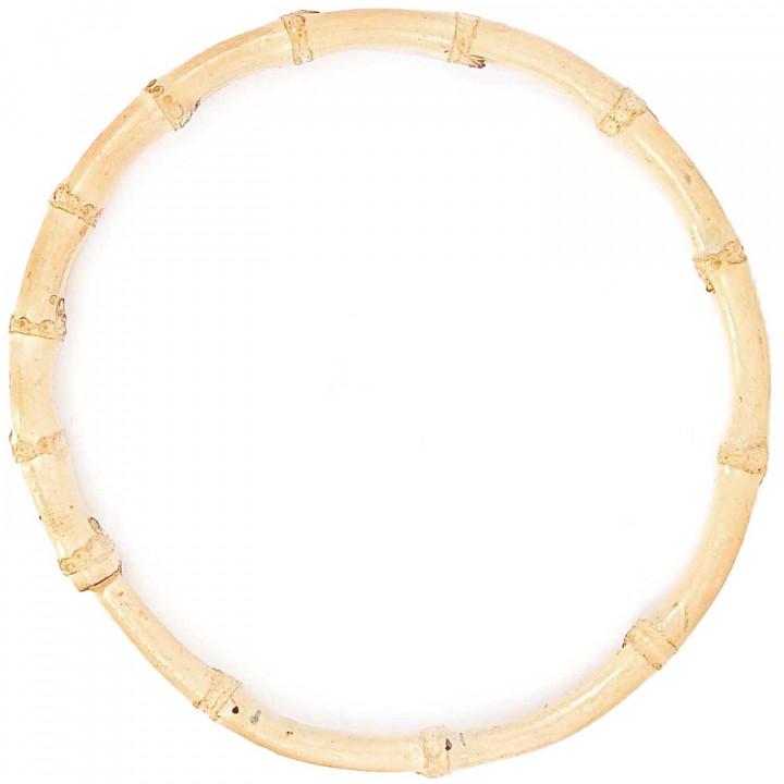 Anses de sac ronde bambou