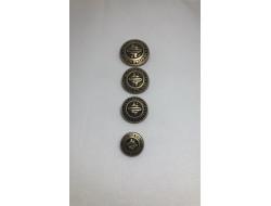 Bouton Métal Bronze
